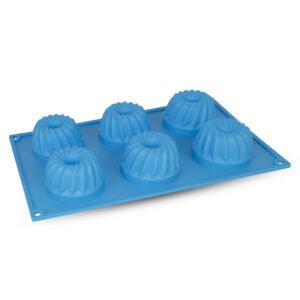 Forma Twirl com 6 Cavidades em Silicone