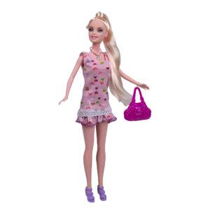 Boneca Beauty Estrela da Moda com Acessórios Fashion