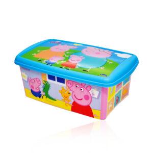 Caixa Organizadora Peppa Pig 4 Litros