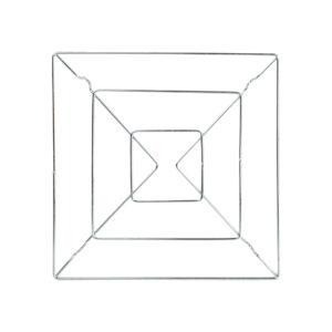 Descanso de Panela Aramado Quadrado 20cm x 20cm