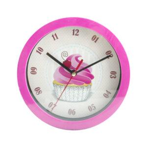 Relógio de Parede 'Guloseimas' 17,5cm